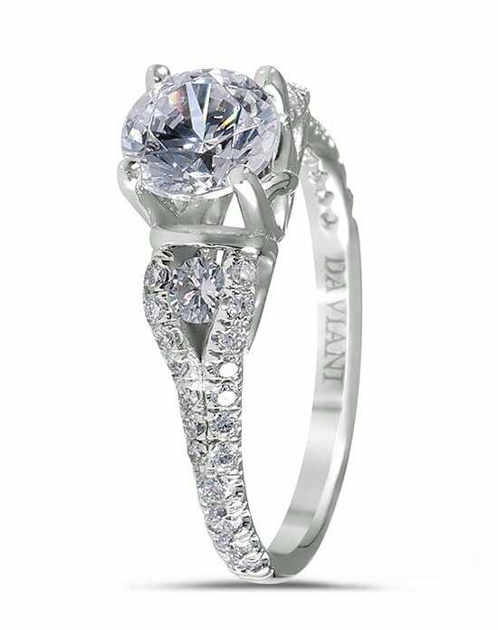 Daviani Love Links Collection DCR1078 Engagement Ring photo