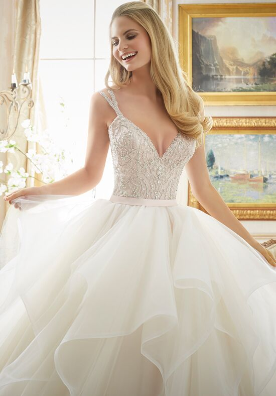 Morilee by madeline gardner 2887 wedding dress the knot for Madeline gardner mori lee wedding dress
