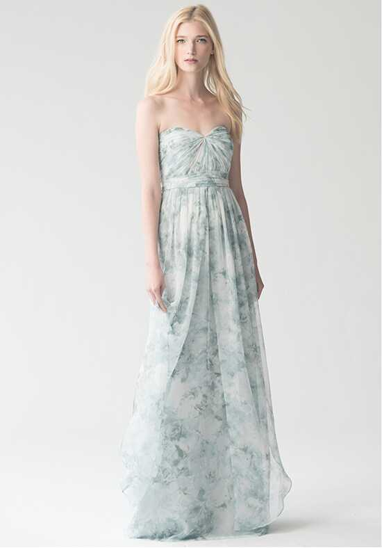 Jenny Yoo Collection (Maids) Nyla Print {Mist Multi} #1681P Sweetheart Bridesmaid Dress