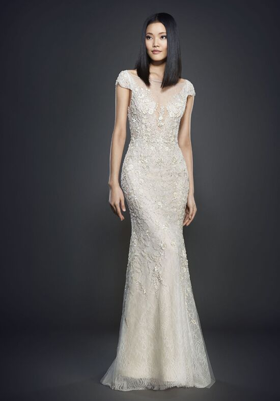 Lazaro 3702 Sheath Wedding Dress