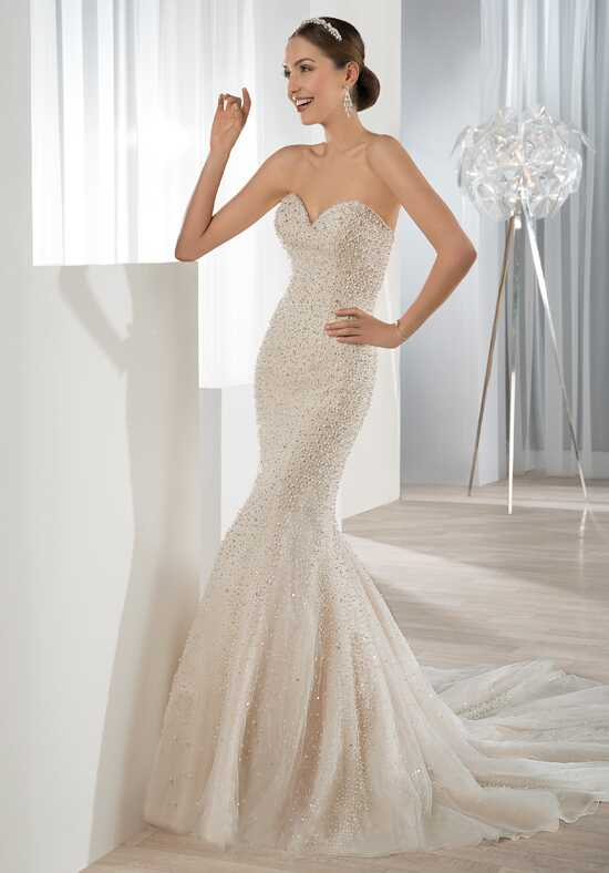 Demetrios 609 Mermaid Wedding Dress