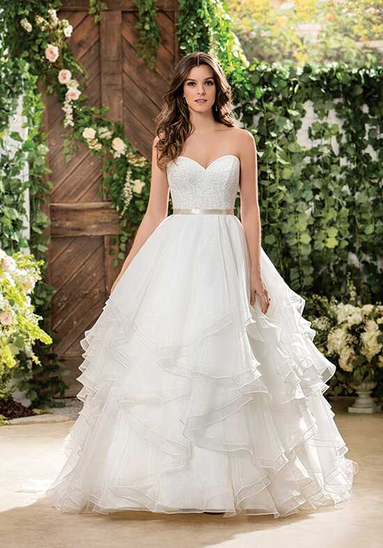 Jasmine Collection F181068 Ball Gown Wedding Dress
