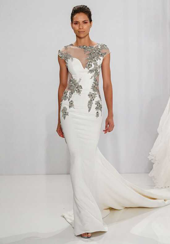 Mark Zunino for Kleinfeld 198 Sheath Wedding Dress