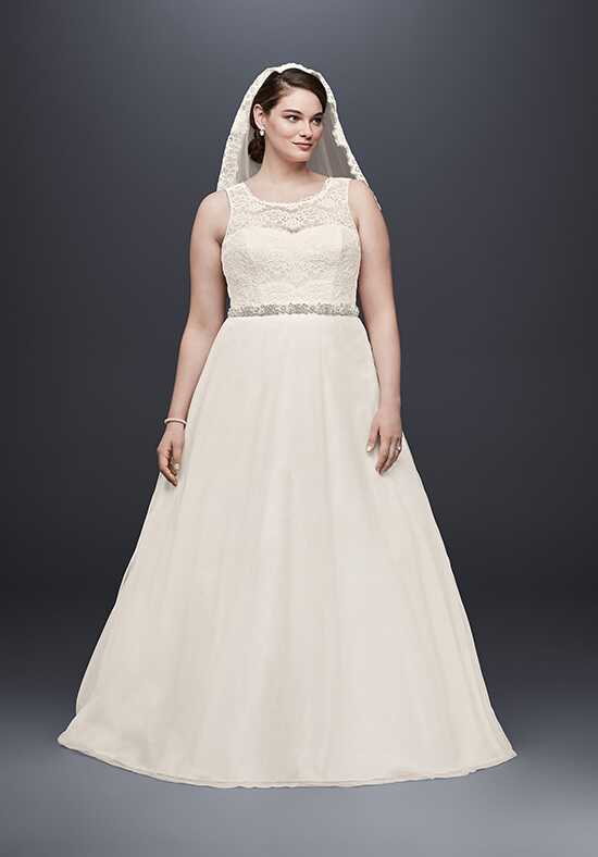 David's Bridal David's Bridal Collection Style 9WG3711 A-Line Wedding Dress