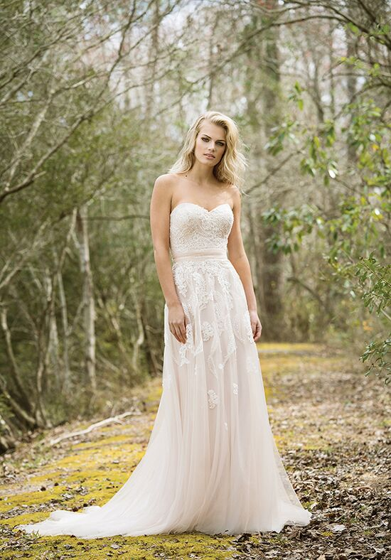 Lillian West 6461 A-Line Wedding Dress