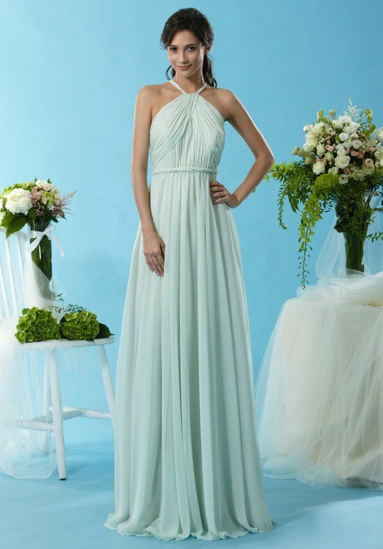 Eden Bridesmaids 7444 Halter Bridesmaid Dress