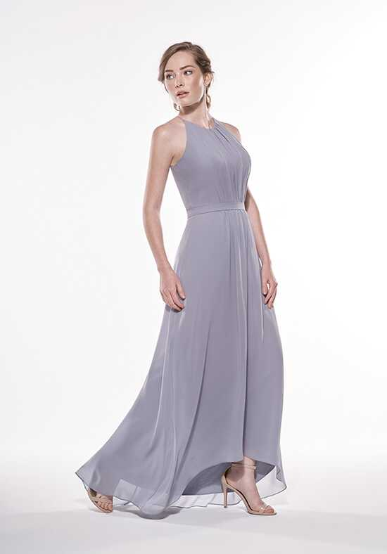 JASMINE P196003 Bateau Bridesmaid Dress