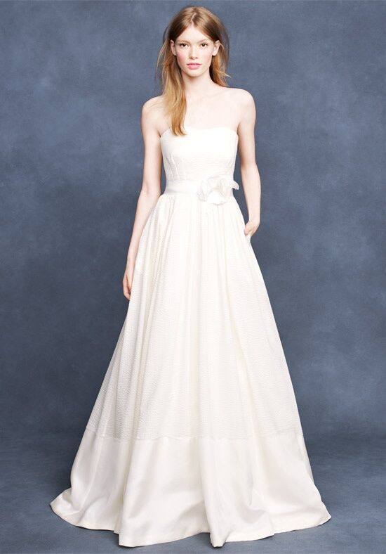 J Crew Weddings Parties Corliss Gown A Line Wedding Dress