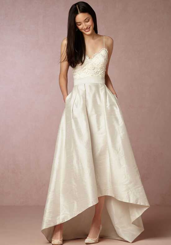 BHLDN Bellamy Skirt & Havana Corset A-Line Wedding Dress
