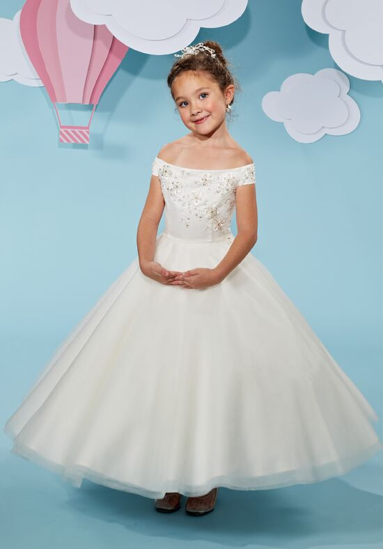 Cupids by Mary's F500 Ivory Flower Girl Dress