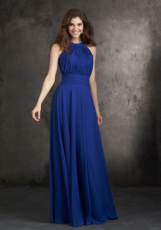 Allure Bridesmaids 1427 Halter Bridesmaid Dress