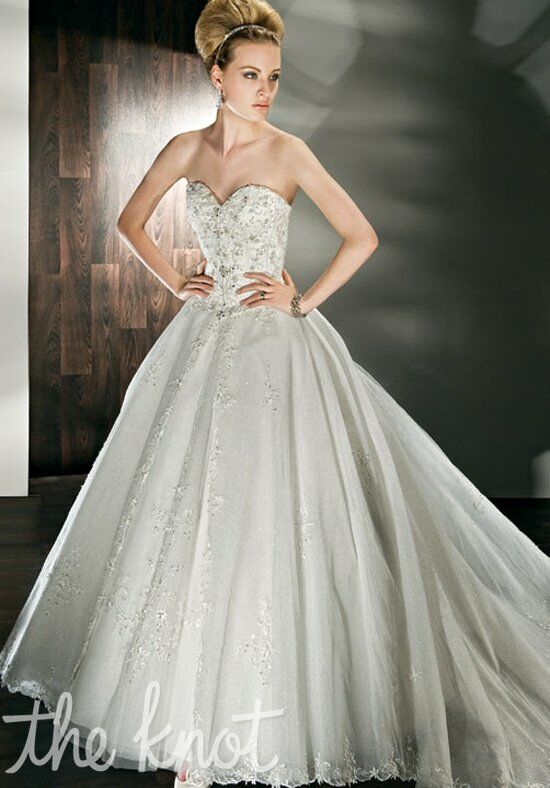 Demetrios 522 Ball Gown Wedding Dress