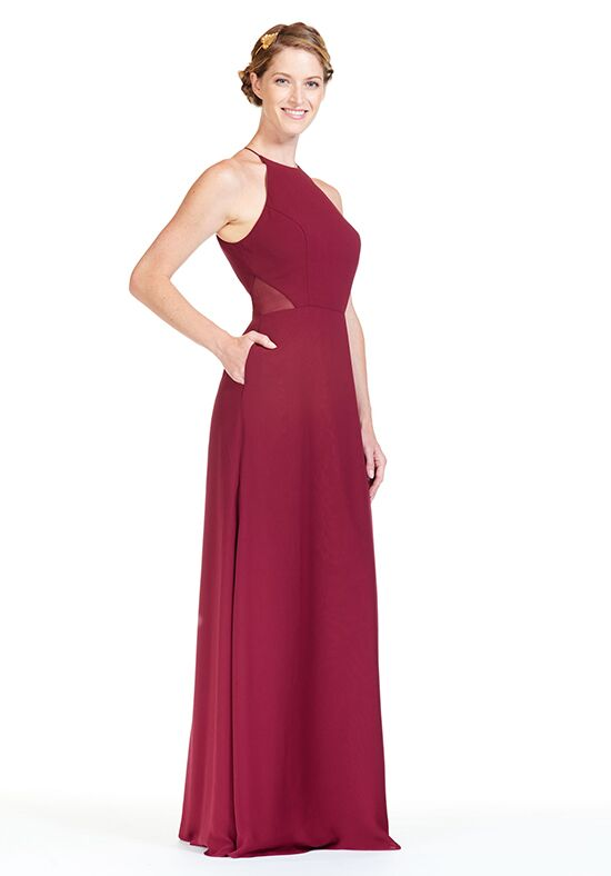 Bari Jay Bridesmaids BC-1808 Halter Bridesmaid Dress