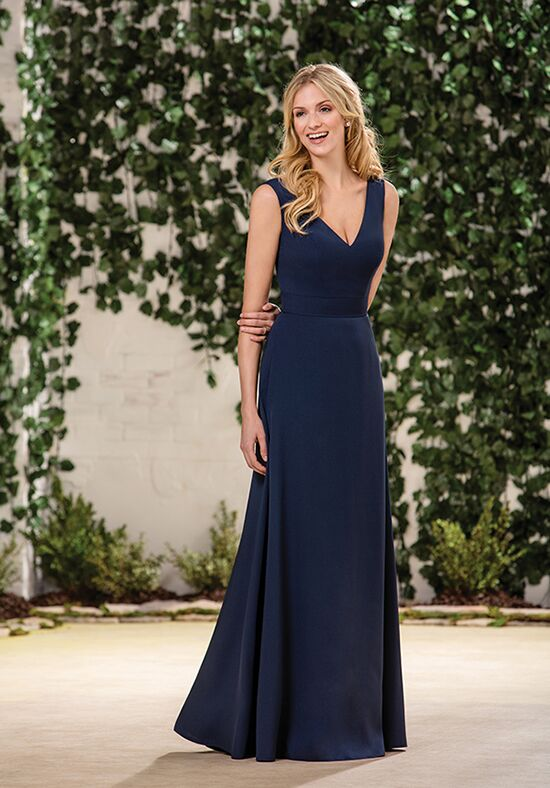B2 by Jasmine B183065 V-Neck Bridesmaid Dress