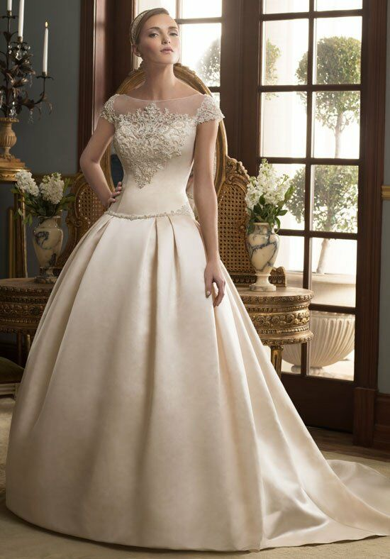 Casablanca Bridal 2164 Ball Gown Wedding Dress