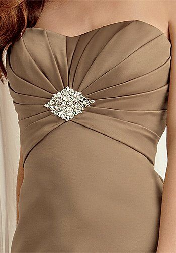Jordan 473 Strapless Bridesmaid Dress