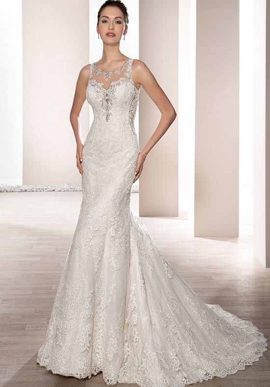 Demetrios 665 Mermaid Wedding Dress