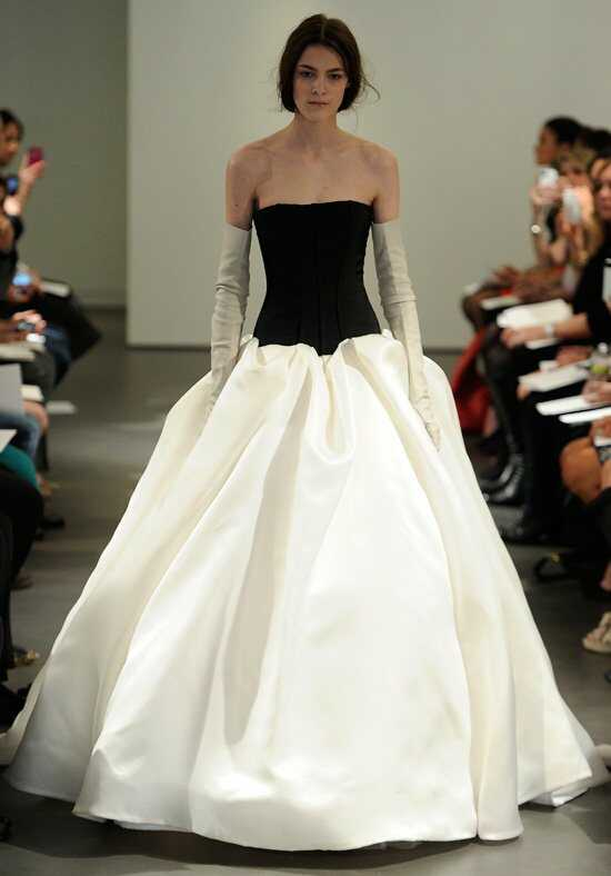 Vera Wang Spring 2014 Look 5 Ball Gown Wedding Dress