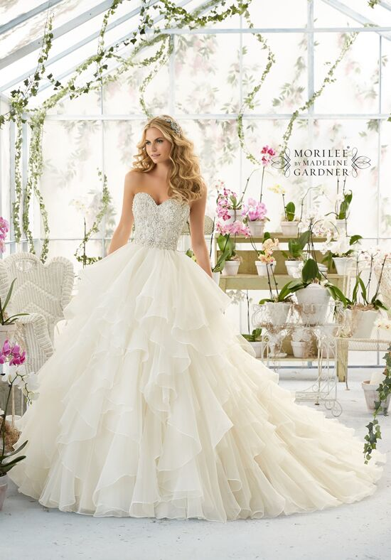 Morilee by Madeline Gardner 2815 Ball Gown Wedding Dress