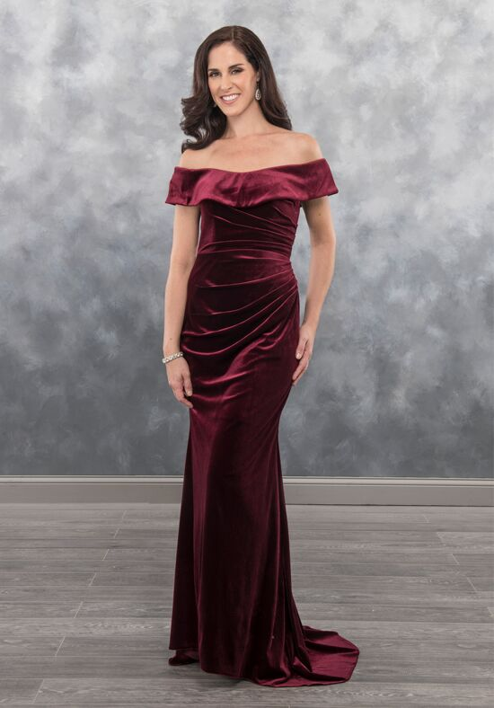 Beautiful Mothers by Mary's MB8036 Blue Mother Of The Bride Dress