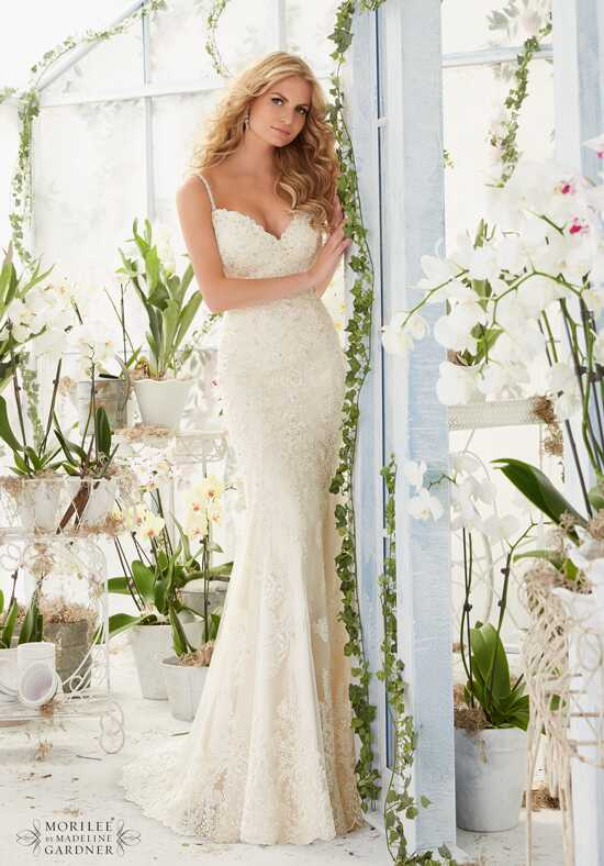Morilee by Madeline Gardner 2807 Sheath Wedding Dress