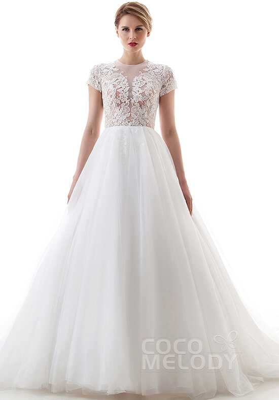 CocoMelody Wedding Dresses LD4448 A-Line Wedding Dress