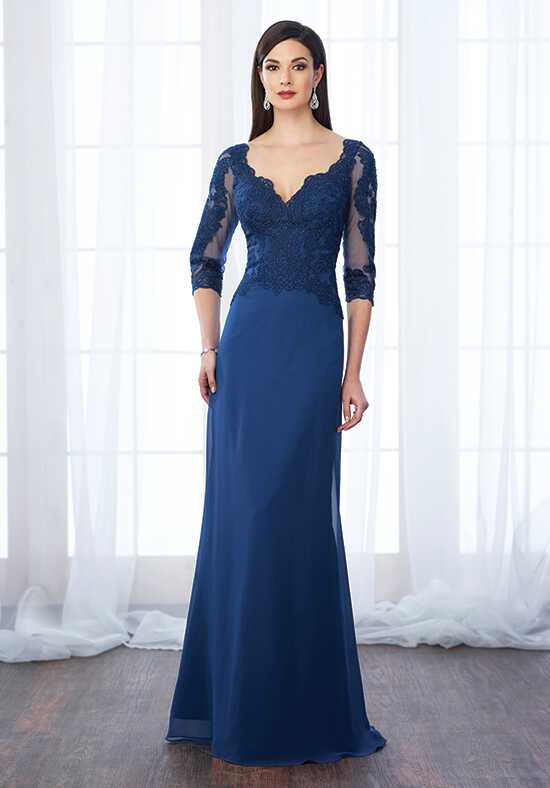 Cameron Blake 217650 Blue Mother Of The Bride Dress