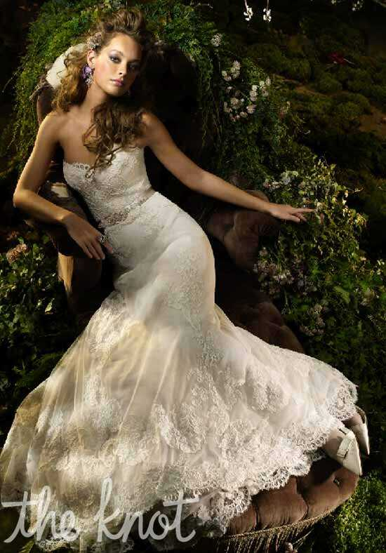 Lazaro 3004 A-Line Wedding Dress