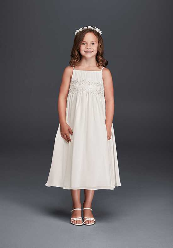 David's Bridal Flower Girl David's Bridal Style FG9743 Ivory Flower Girl Dress