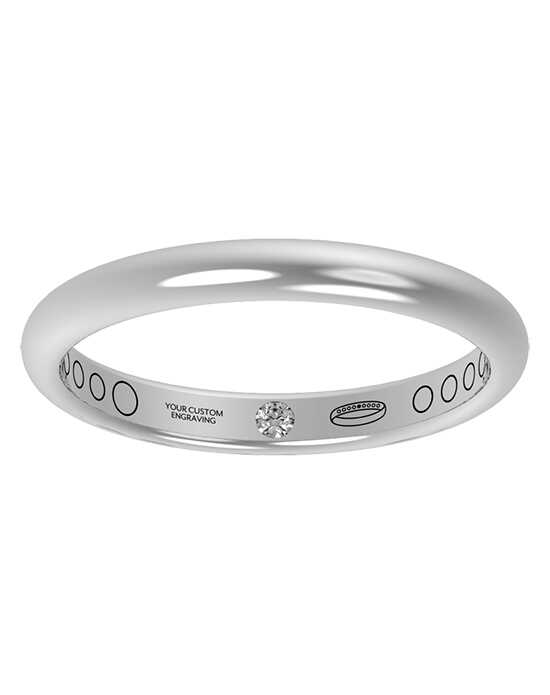 Everband 2.5mm Classic Gold,Platinum,White Gold,Rose Gold Wedding Ring