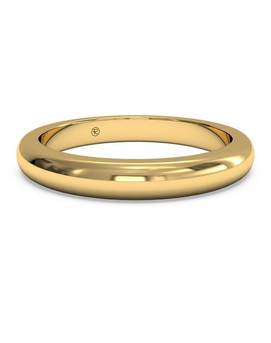 Ritani Women's Diamond Wedding Band - in 18kt Yellow Gold Gold Wedding Ring