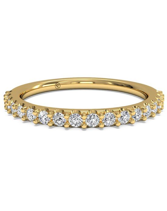 Ritani Women's French-Set Diamond Band - in 18kt Yellow Gold - (0.28 CTW) Gold Wedding Ring
