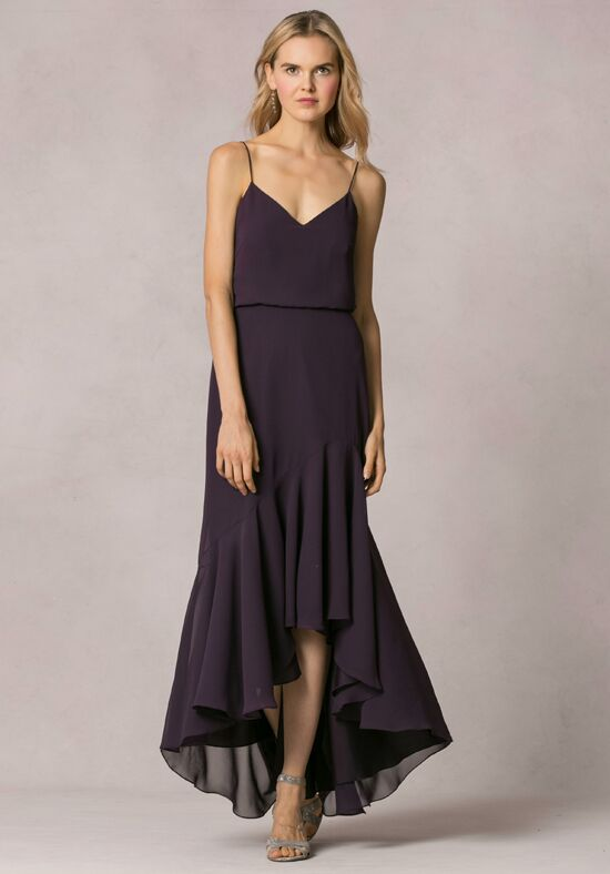 Jenny Yoo Collection (Maids) Lola V-Neck Bridesmaid Dress