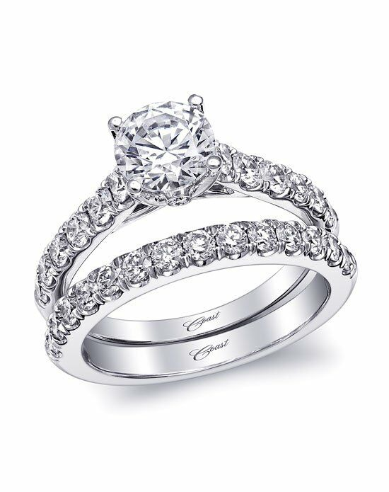 Coast Diamond Charisma Collection - LC5461 & WC5461 White Gold Wedding Ring
