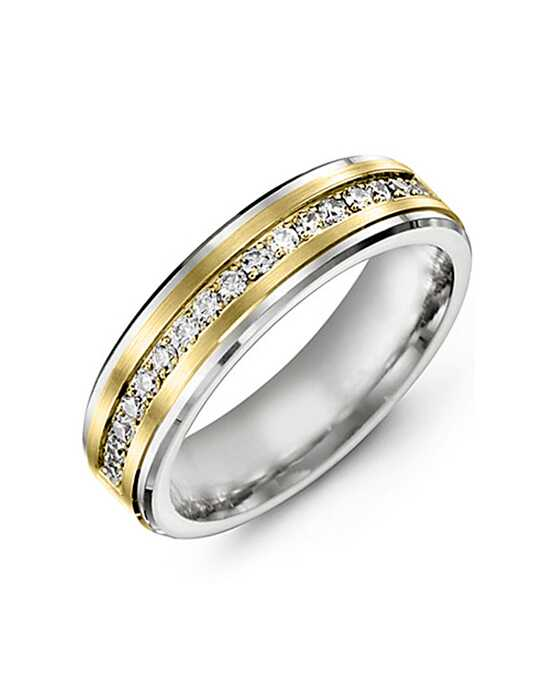MADANI Rings MUJ714WY-34R Gold, White Gold Wedding Ring