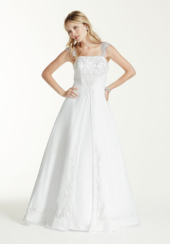 David's Bridal David's Bridal Collection Style V9010 A-Line Wedding Dress