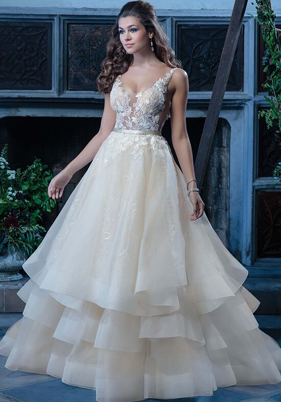 Amaré Couture by Crystal Richard C126 Vanessa A-Line Wedding Dress