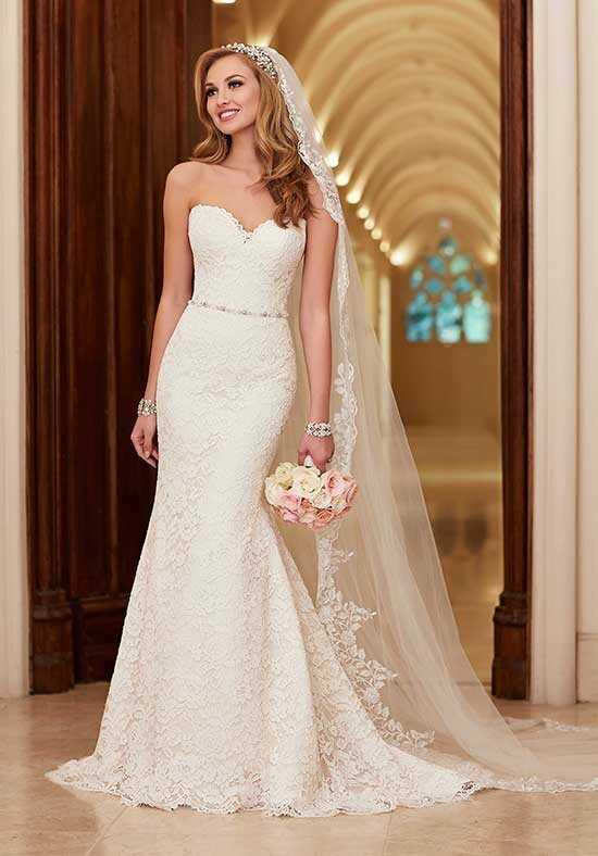Stella York 6124 A-Line Wedding Dress