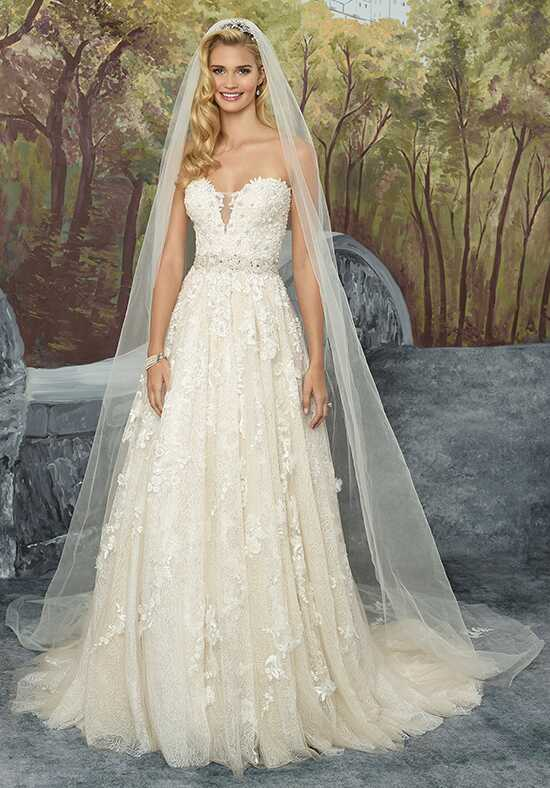 Justin Alexander 8921 A-Line Wedding Dress