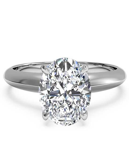Ritani Classic Oval Cut Engagement Ring