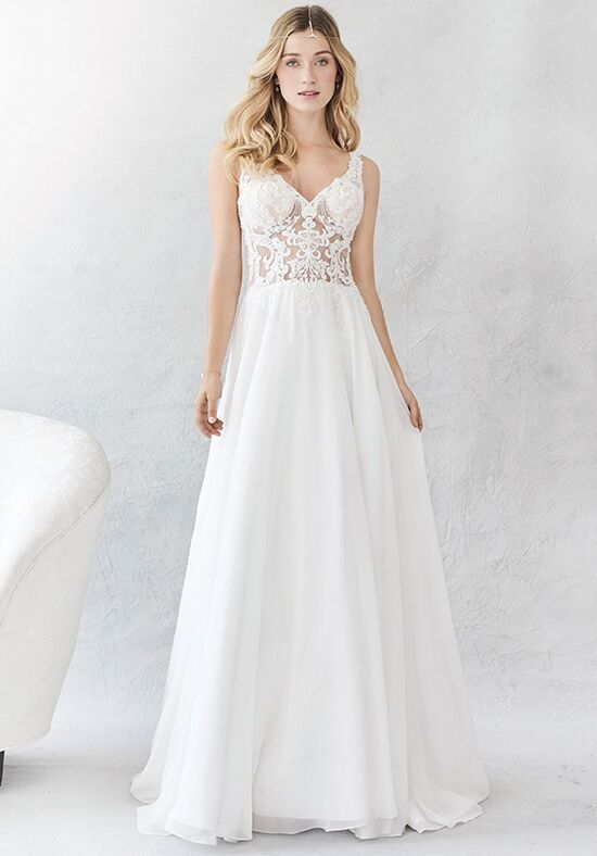 Kenneth Winston: Ella Rosa Collection BE379 Sheath Wedding Dress