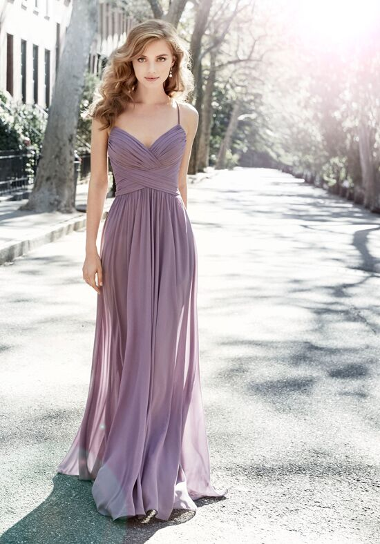 Hayley Paige Occasions 5704 V-Neck Bridesmaid Dress