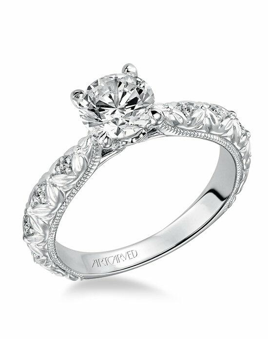 ArtCarved 31-V486ERW Engagement Ring photo