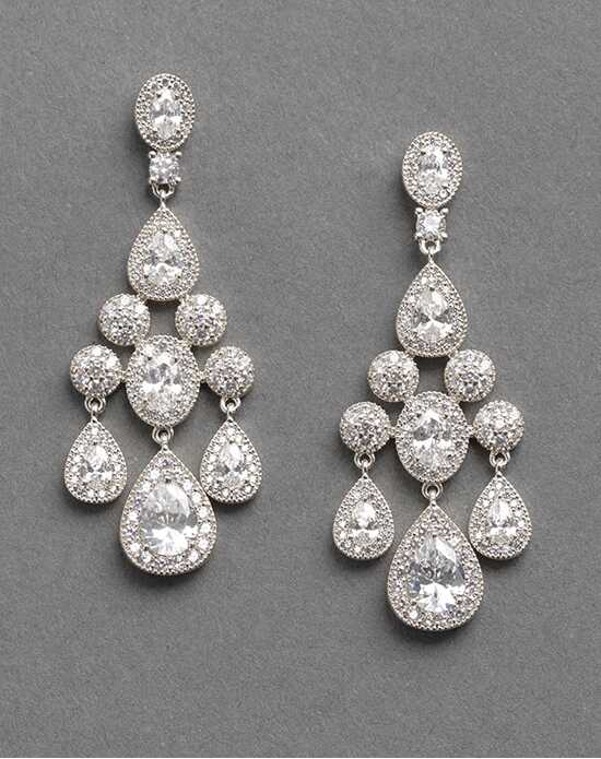 Dareth Colburn Anna CZ Earrings Wedding Earring photo
