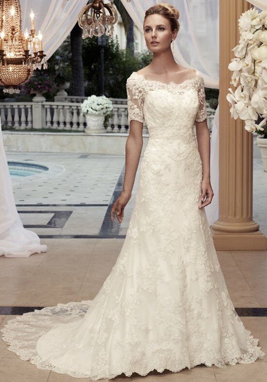 Casablanca Bridal 2119 A-Line Wedding Dress