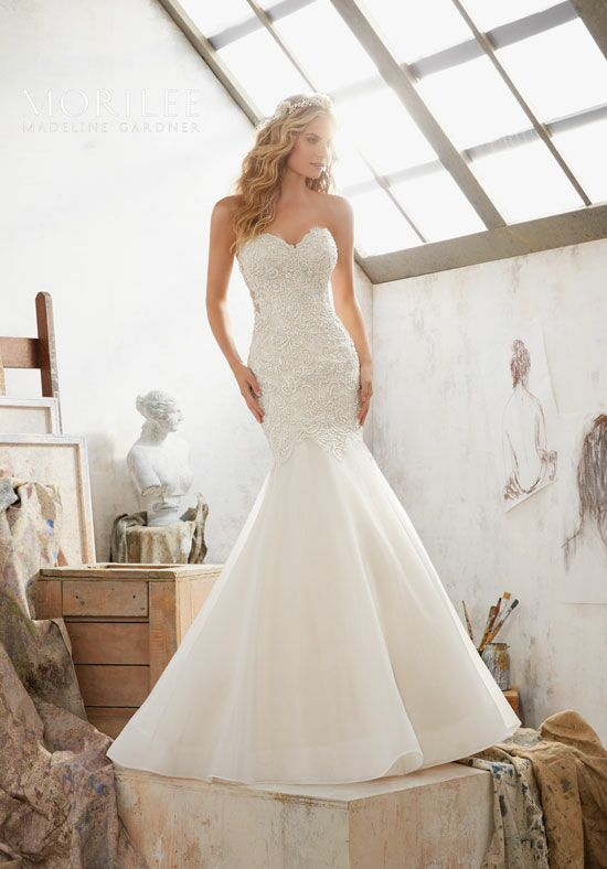 Morilee by Madeline Gardner Margot/8120 Mermaid Wedding Dress