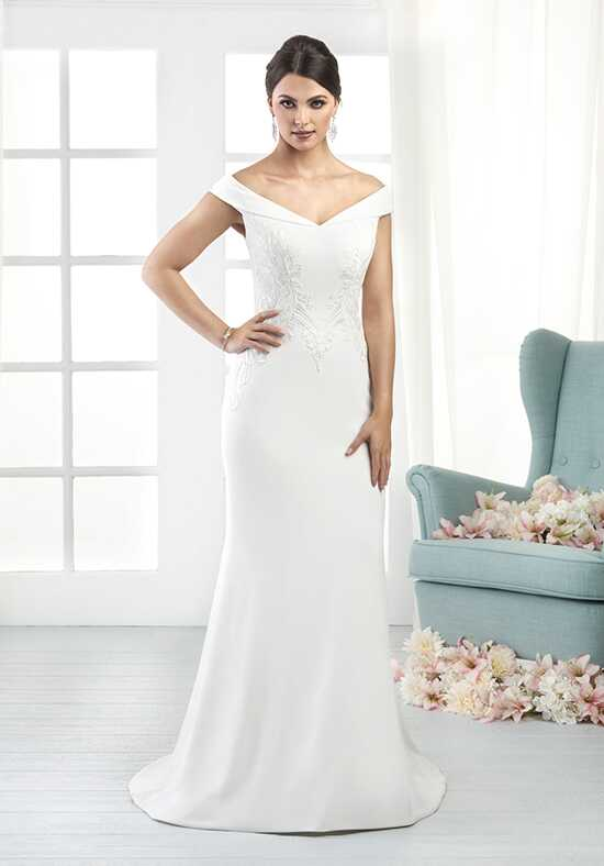 Bonny by Bonny Bridal 808 Sheath Wedding Dress