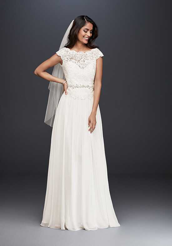 David's Bridal David's Bridal Collection Style WG3851 A-Line Wedding Dress