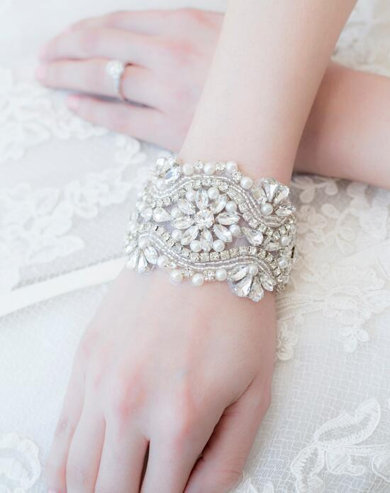 Alisa Brides Celeste Cuff Bracelet Wedding  photo