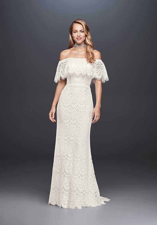 David's Bridal WG3892 Sheath Wedding Dress